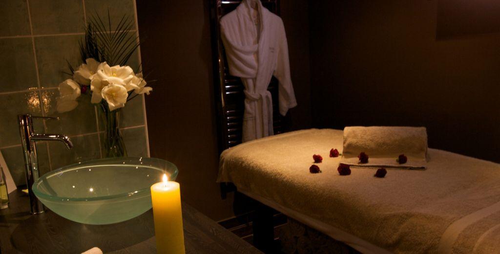 Or indulge in an afternoon in the spa