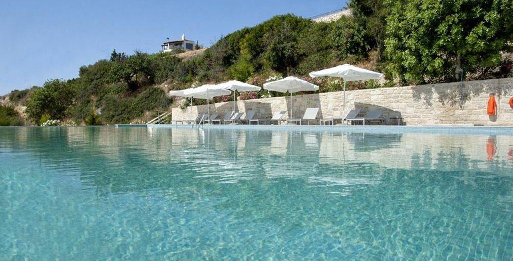 Take a dip in the pool