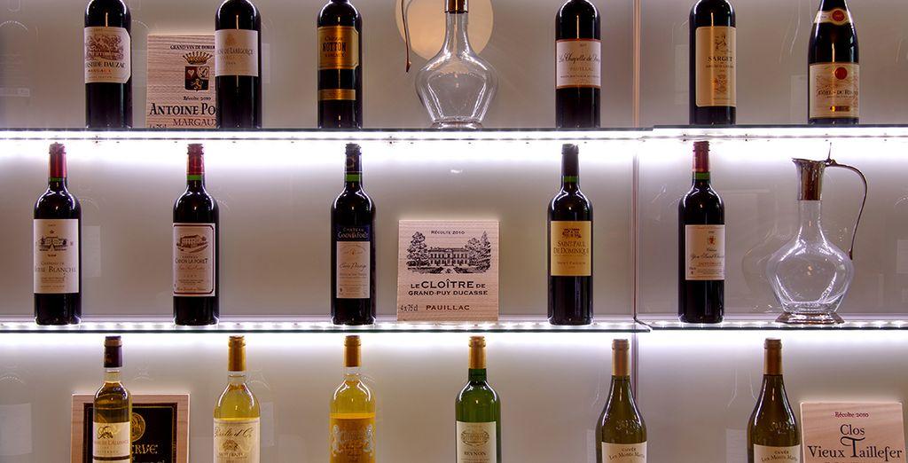 The Wine Bar awaits
