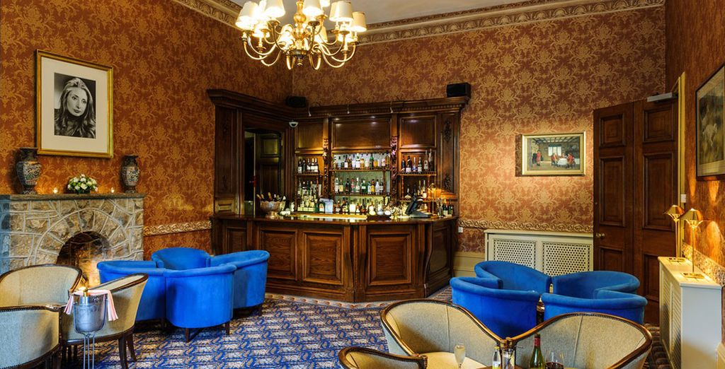 And while away your evenings in the sophisticated bar