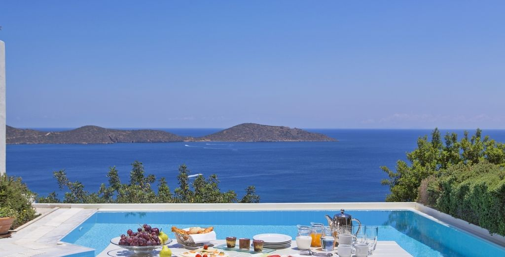 As with all the Villas, the Elounda Pool Villa has its own private pool