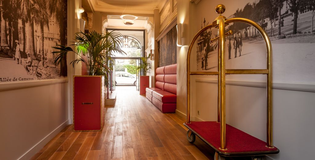 Check in to this 4* hotel, boasting plenty of character