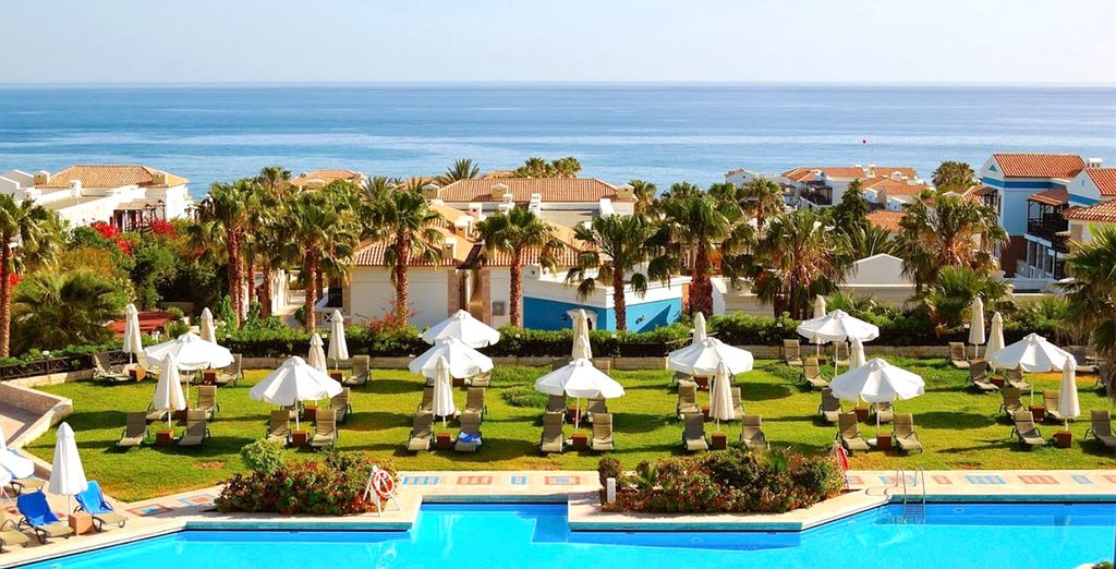 Staying at Aldemar Olympian Village