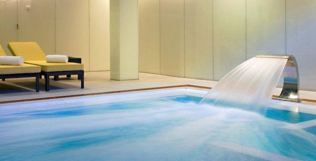 Make the most of the hotel's spa and golf facilities...
