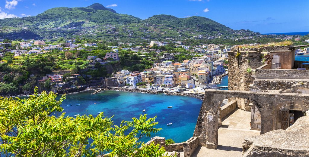 Venture out to explore the natural beauty of Ischia