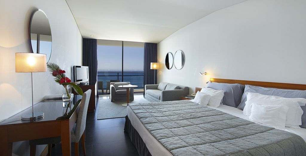 Or stay in a Superior Sea View Room