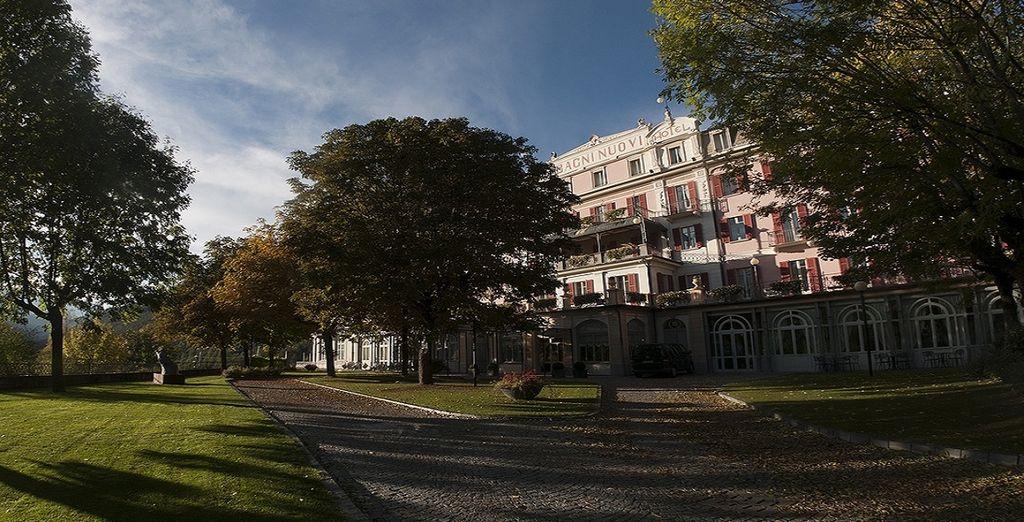 At the Grand Hotel Bagni Nuovi