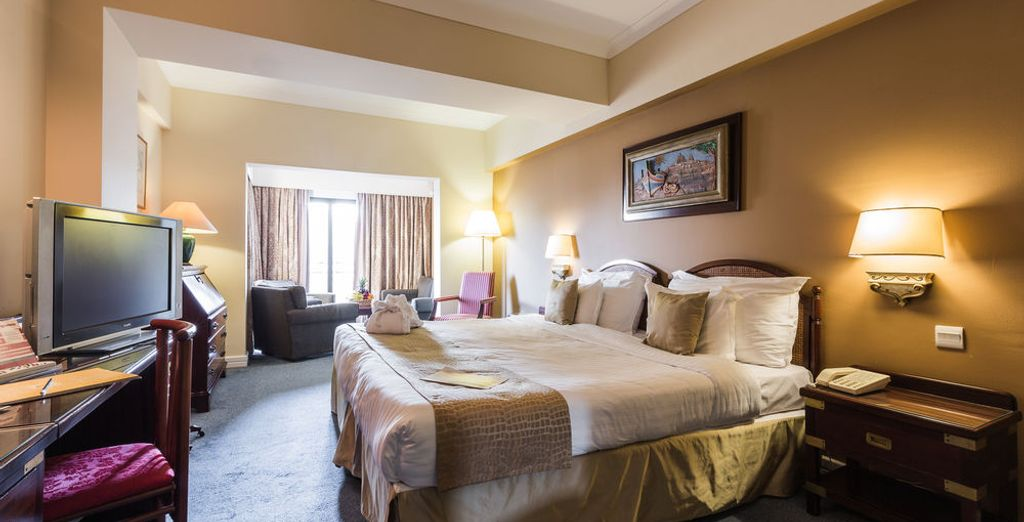 Opt for the light Junior Suite