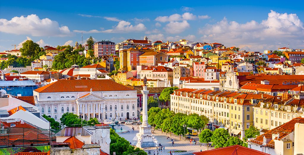 Enjoy the sights of Lisbon
