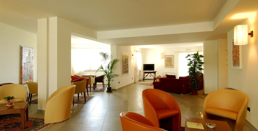 Enjoy calming minimalistic interiors