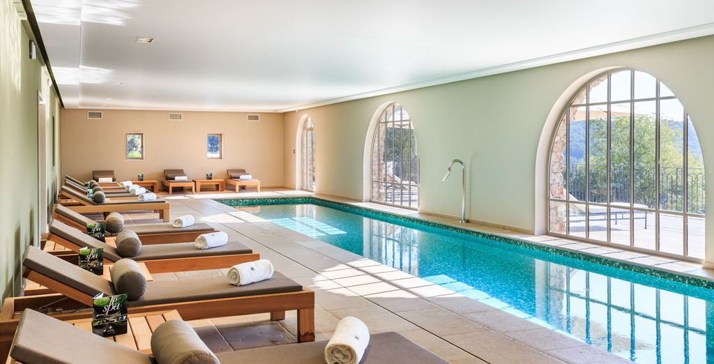 Pamper yourself at Spa Cinq Mondes