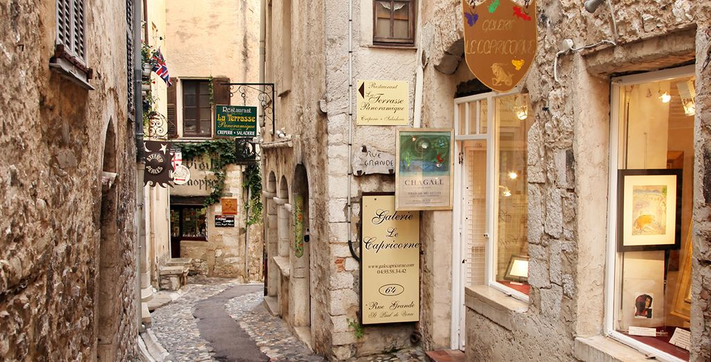 One of the oldest towns on the Riviera