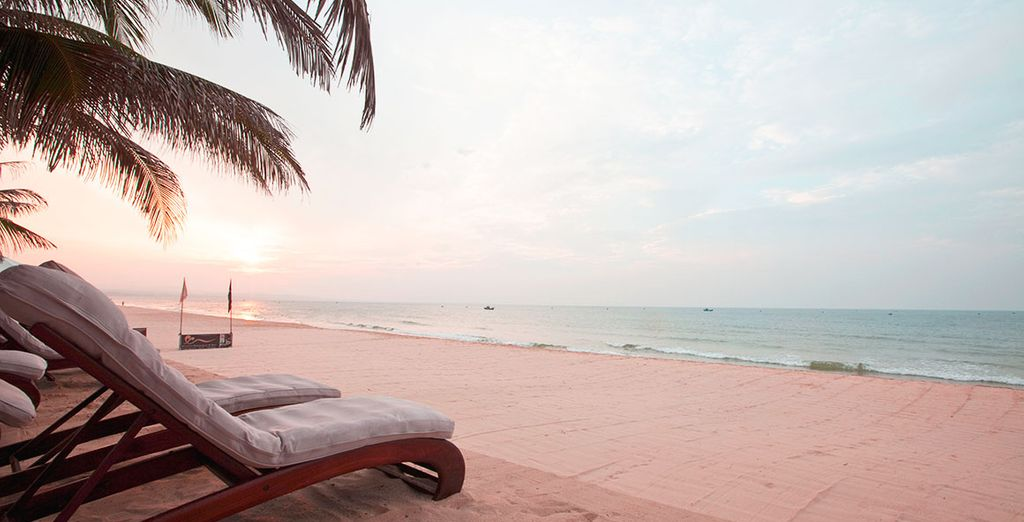 Then end your stay on the prstine beaches of Vang Tau