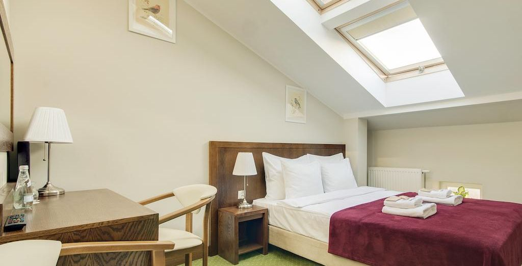 Make yourself comfortable at City View Room