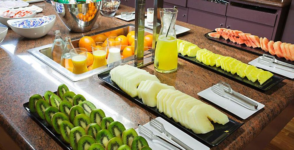 Enjoy a yummy buffet breakfast each morning