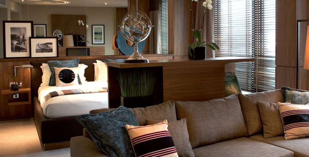 Or an even more spacious Sky Suite