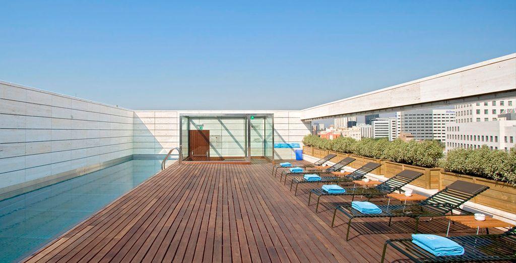 Sleek contemporary design in a vibrant Spanish city