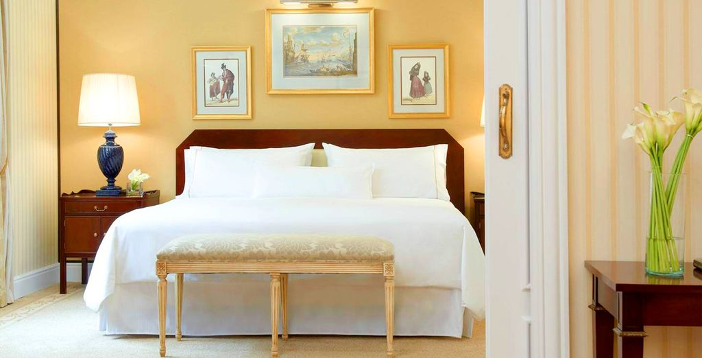 Stay in a plush & comfortable Junior Suite - The Westin Palace 5* Madrid