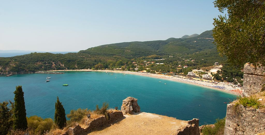 Explore the wonderful beaches and scenery nearby