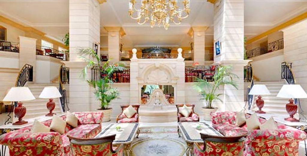 Amman Marriott Lobby