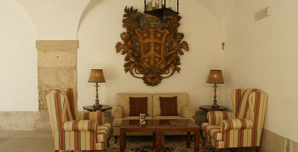 Admire the fantastic decor of the hotel interior