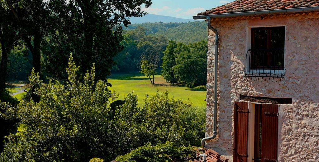 Set in the beautiful countryside of Provence