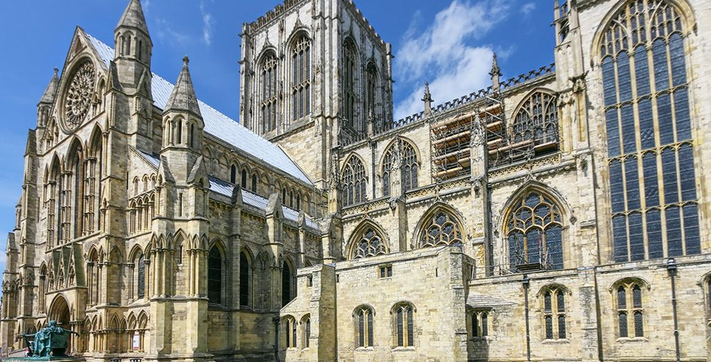 And the grand city of York (40 miles)