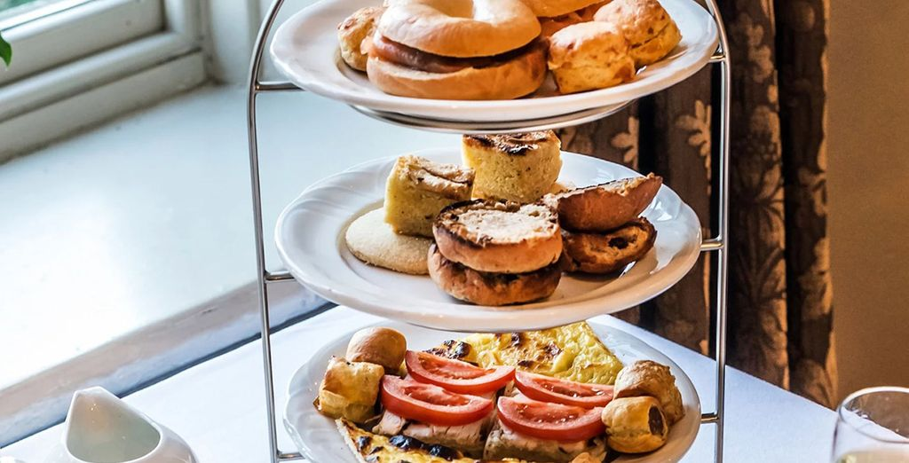 Indulge in classic afternoon tea!