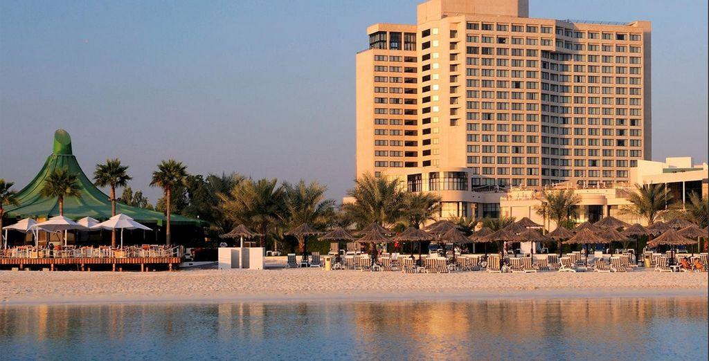 At the InterContinental Abu Dhabi