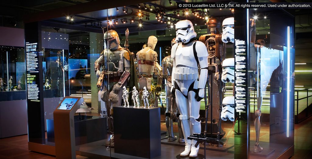 Visit the travelling Star Wars Idenities exhibition