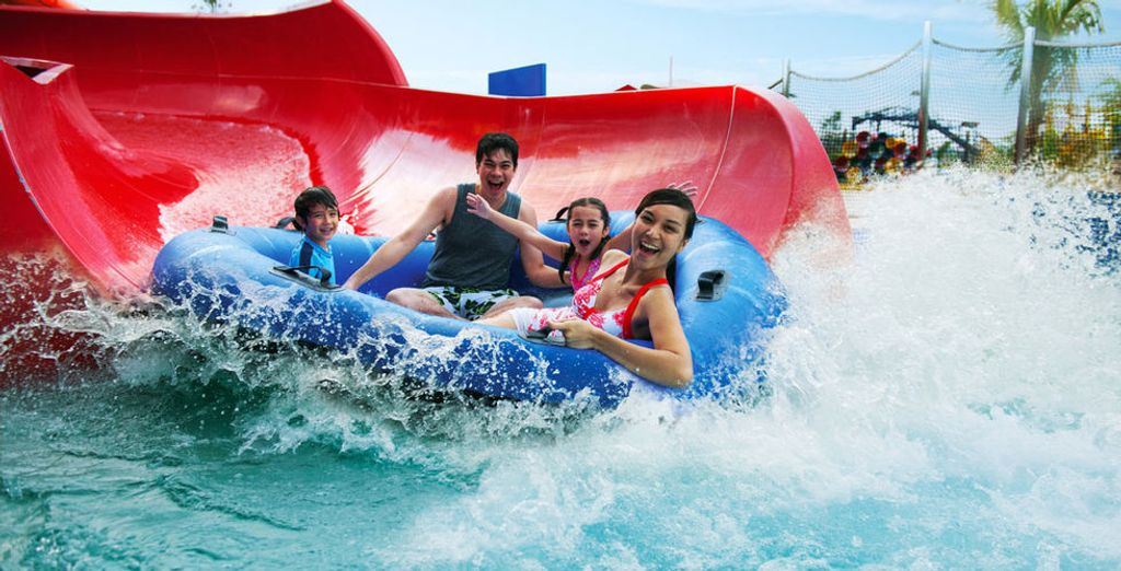 Get ready to discover water park fun!