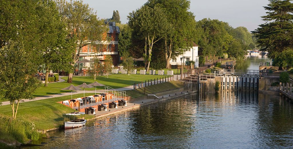 Relax by the river - The Runnymede-On-Thames Hotel and Spa 4* Windsor