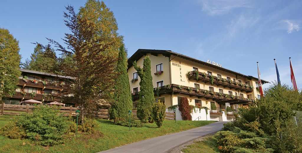 At this wonderful secluded hotel - Hotel Alpina**** - Seefeld - Austria Seefeld