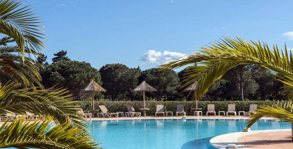 A lovely resort