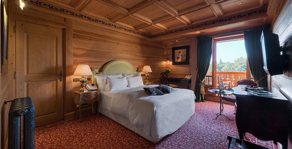 Our members may choose from a Deluxe Room Forest