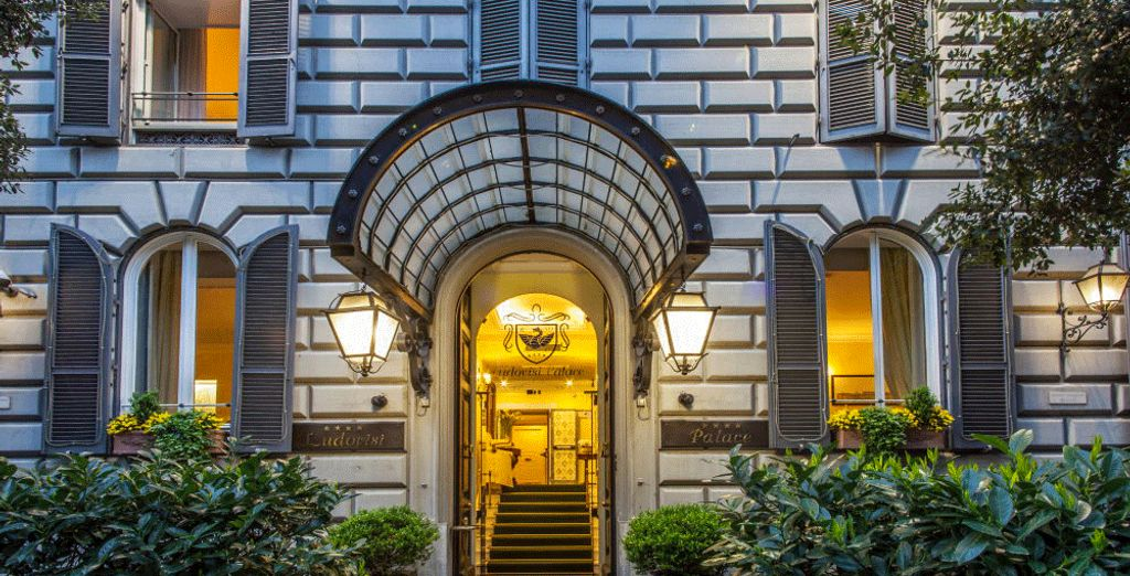 Welcome to the effortlessly elegant Ludovisi Palace Hotel 4*.