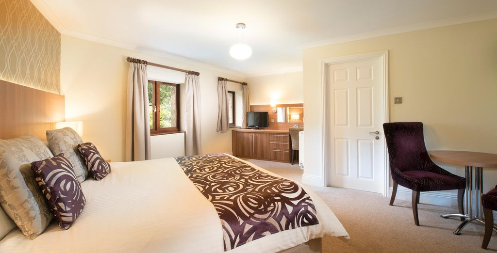 Our guests will stay in a Courtyard Room