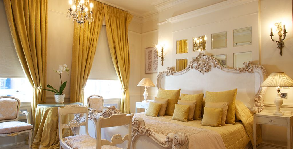 Choose between a Deluxe Room which offers a homely feel