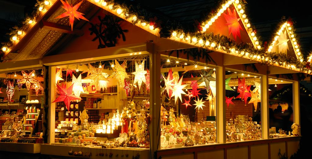 If you're travelling in December you will find a magical Christmas Market