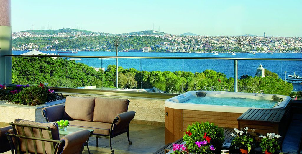 Overlooking the Bosphorus