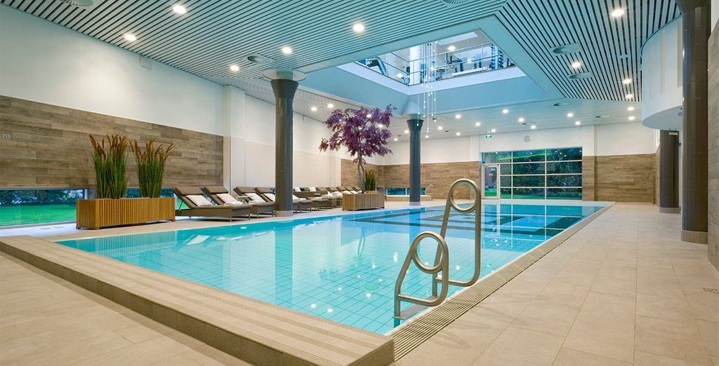 Hotel Okura also offers a gym, spa and indoor pool