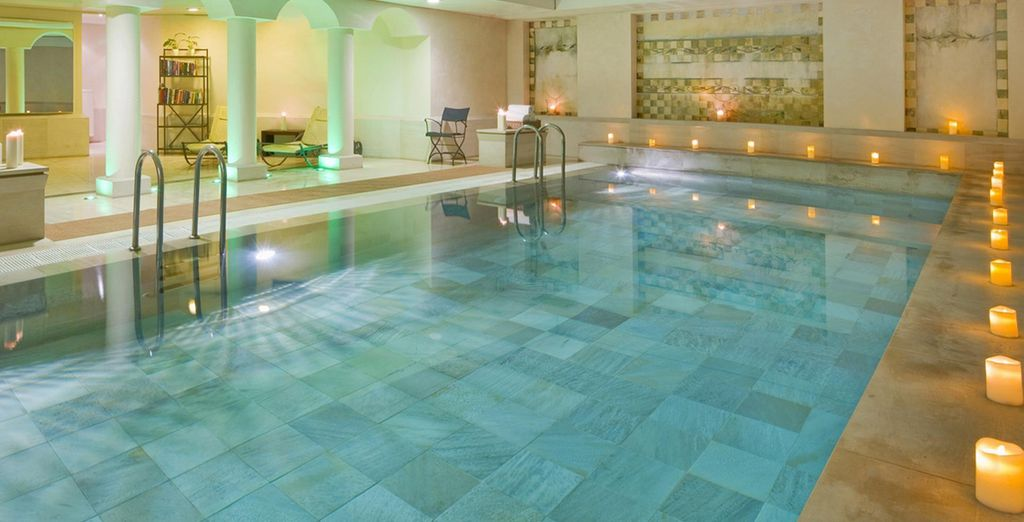 Rejuvenate in the hotel's tranquil facilities