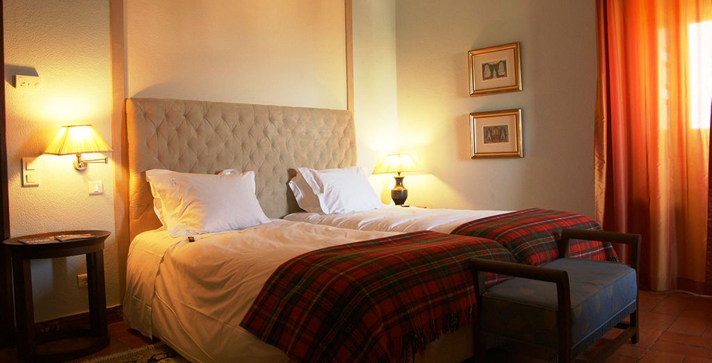 Superior Rooms offer superb levels of comfort