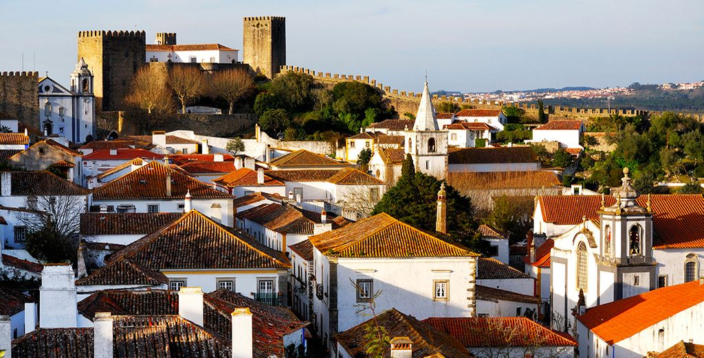 Explore the charming region of Obidos...
