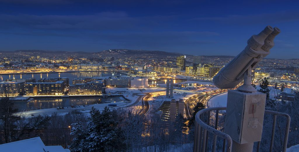 Then its off to the impressive city of Oslo
