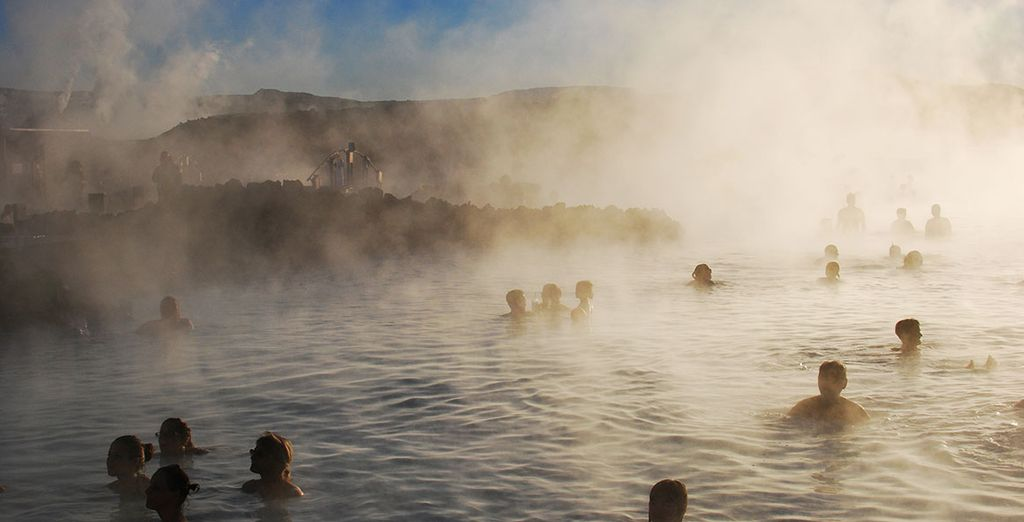 A visit to one of the city´s geothermal swimming pools is a great way to shake off jetlag!