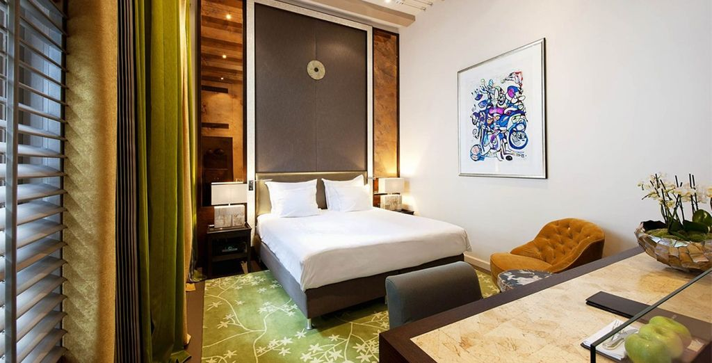 A Luxury Duplex Room....
