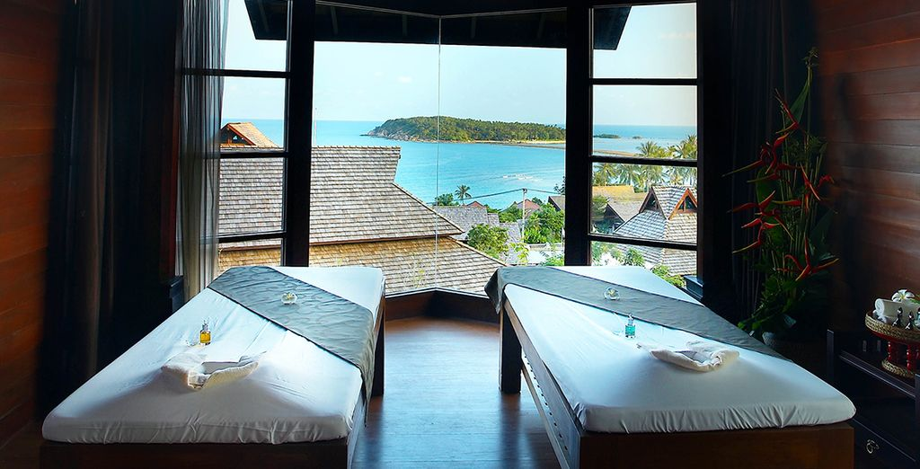 Stay 10 nights or more and we'll include a free massage too