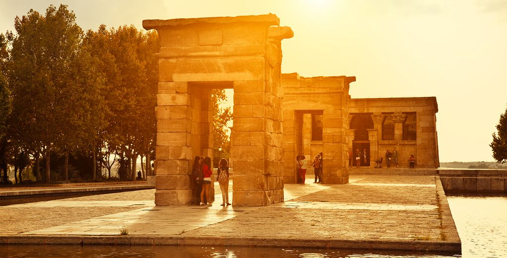And the Egyptian Temple of Debod