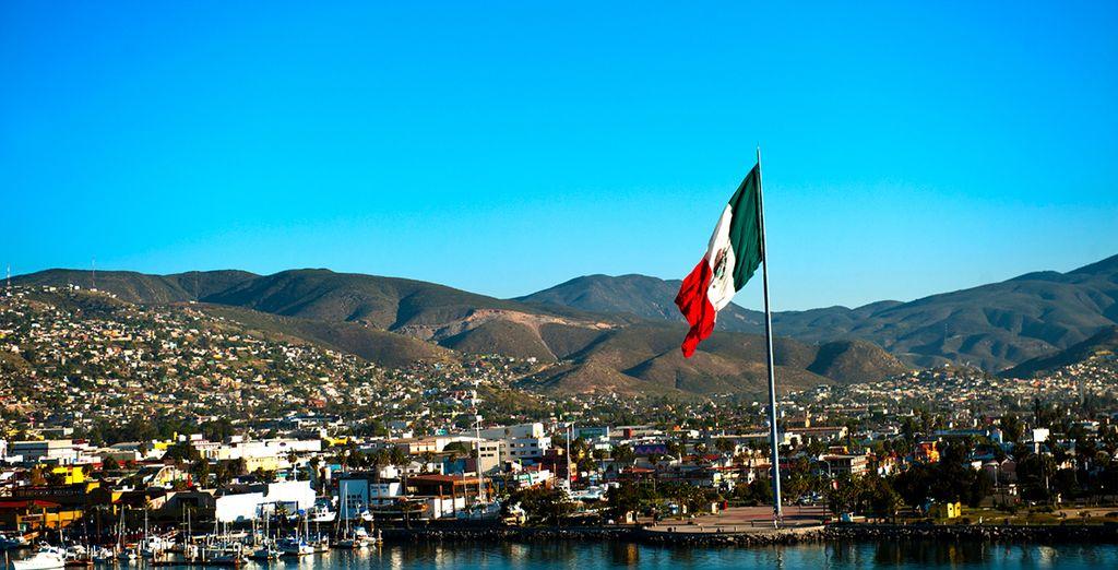 Admire the  waterfront promenade of Ensenada
